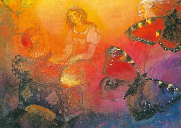 Märchentruhe Postkarte