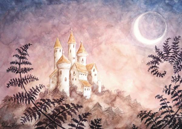 Märchenschloss Postkarte