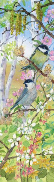 Lesezeichen Frühling