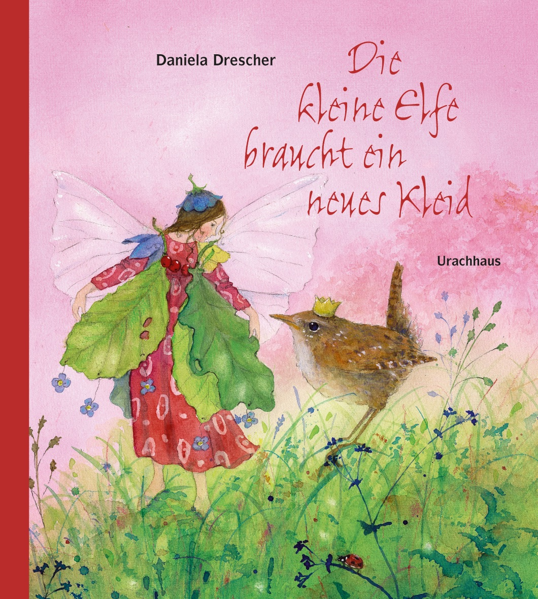 Postkarte Daniela Drescher Die kleine Elfe kann nicht schlafen
