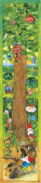 Messlatte Lebensbaum