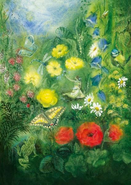 Postkarte Blütenmeer