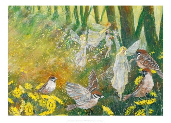 Kunstdruck Frühlingsfreuden