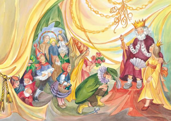 Postkarte Märchenfest