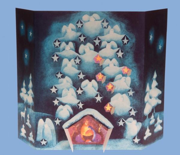 Sternen-Adventskalender