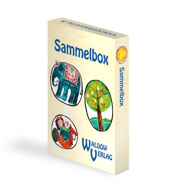 Sammelbox für Bestimmungskarten und Sticker