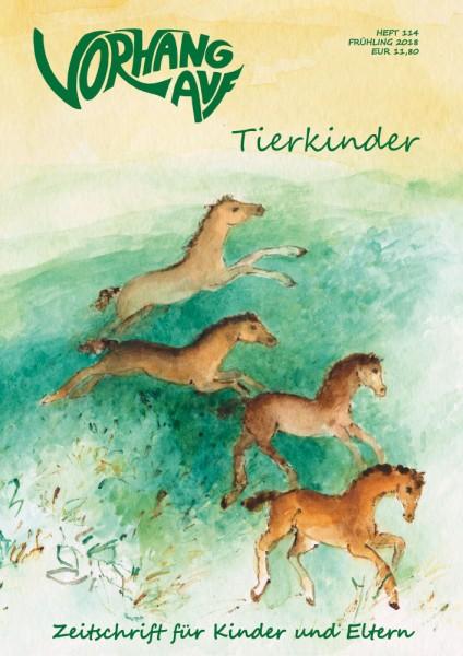 VORHANG AUF Heft 114 Tierkinder