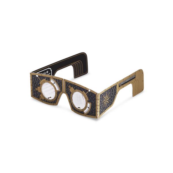 Facettenlinsenbrille