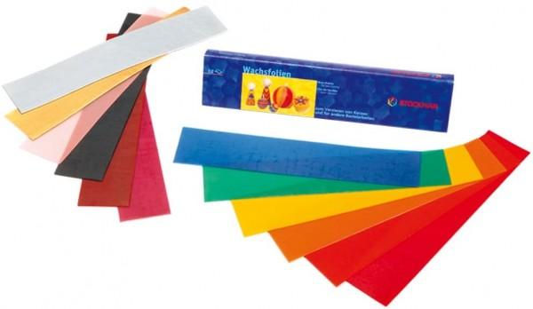 Stockmar Wachsfolien - 12 Farben