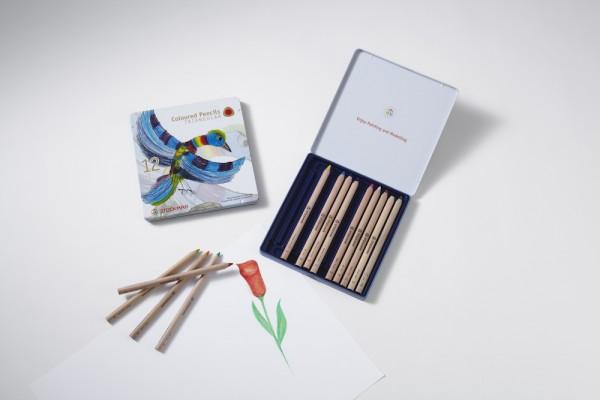 Stockmar Buntstifte dreieckig 12+1 Stifte