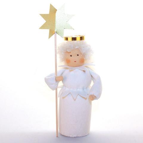 Engel mit Stern Bastelpackung