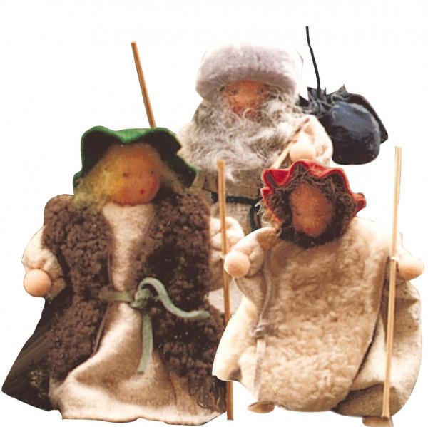 Drei Hirten Bastelpackung